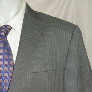 Burberry London Bond Street Two Button Suit 44L